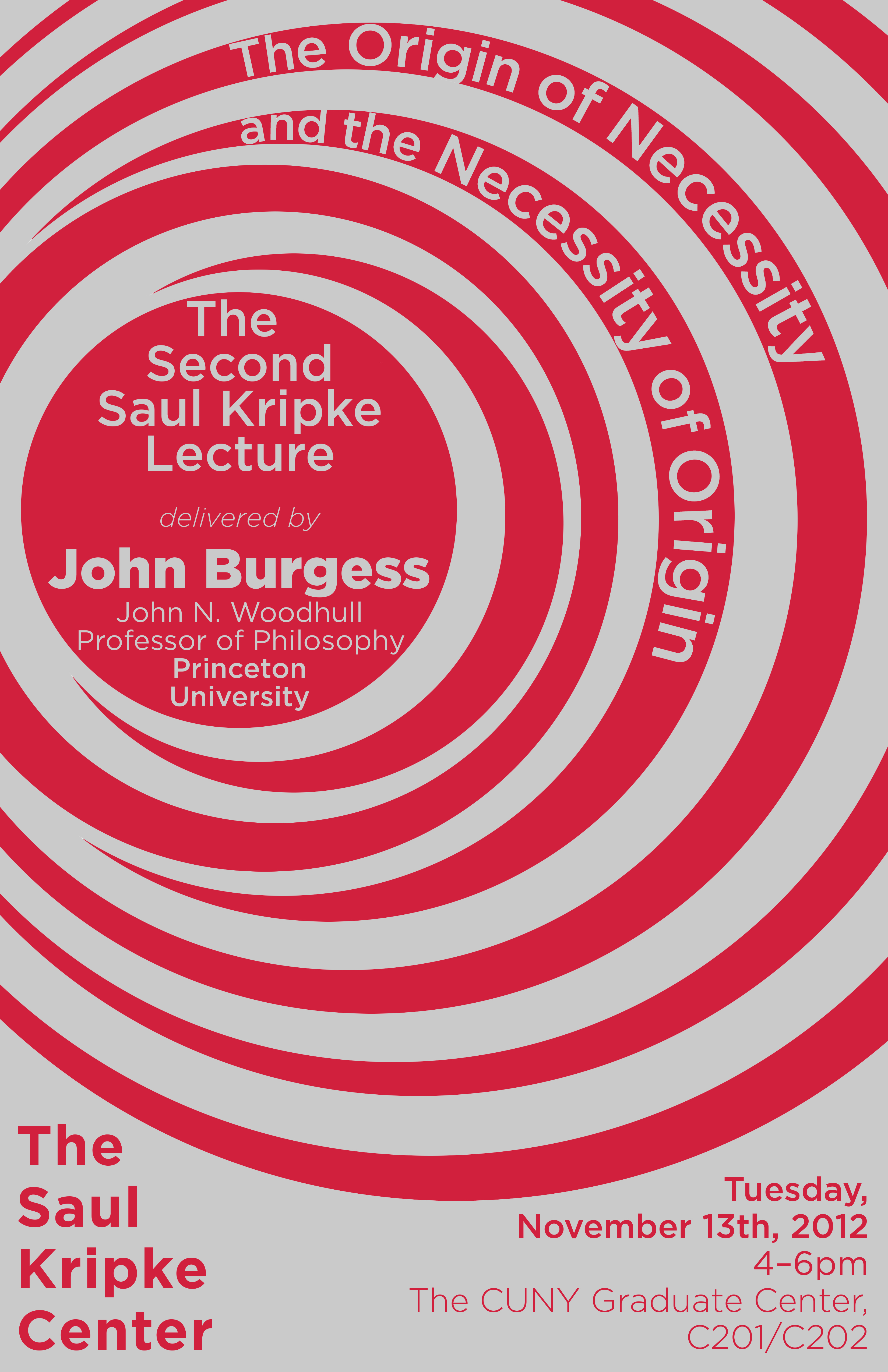 John Burgess to Deliver Second Annual Saul Kripke Lecture