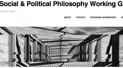 The Social & Political Philosophy Working Group Website Launches!