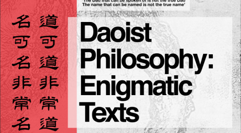 Daoist Philosophy Symposium May 29th
