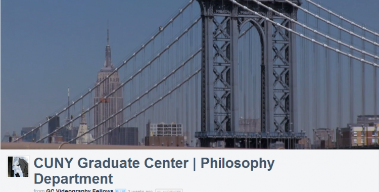 Video: CUNY Philosophy PhD Student Interviews Composite