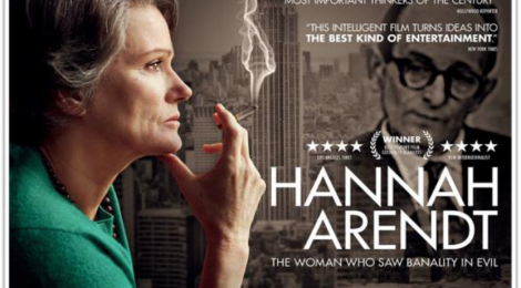 CUNY GC Screening of Hannah Arendt Film & Discussion Feb 27