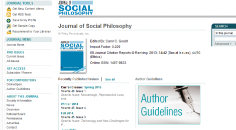 Joshua Keton & Matthew Rachar Appointed to Journal of Social Philosophy
